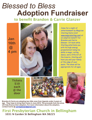 Glanzer Adoption Flyer